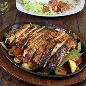 $10.99 Chicken or Steak Fajita