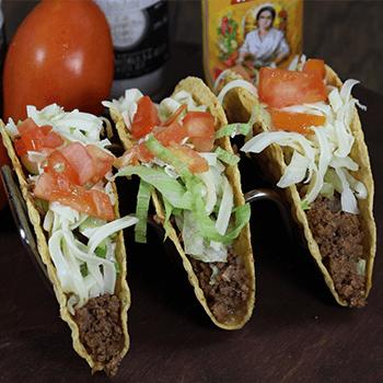 $3.99 3 Tacos